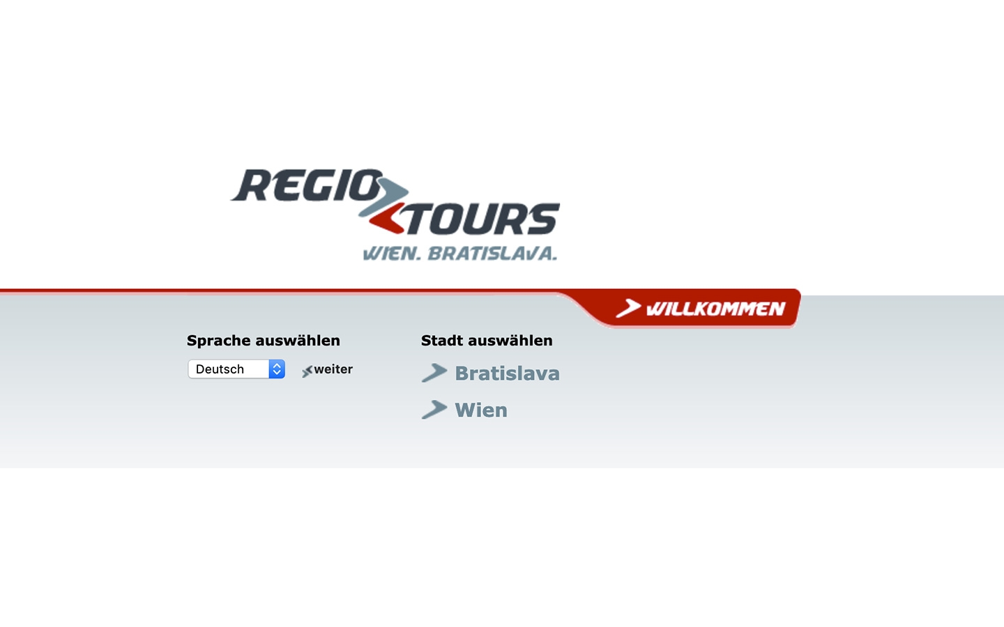 RegioTours | regiotours.net | 2005 (Screen Only 01) © echonet communication
